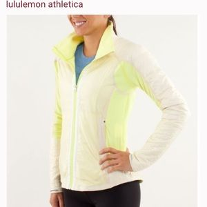 Lululemon yellow jacket